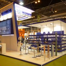 Diseño y producción stand CPHI 2012. Un proyecto de Diseño y Publicidad de Actimundi - Agencia de Marketing y Comunicación - 14.11.2012