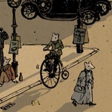 La ciudad de los ratones. Un projet de Illustration de Nicolás Castell - 20.11.2012