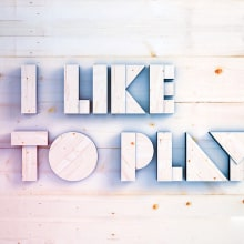 I like to Play!. A Design, Motion Graphics, and 3D project by Josep Bernaus - 11.26.2012
