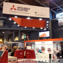 Salon de la Photo 2012 - Mitsubishi Electric. Un proyecto de Diseño, Publicidad e Instalaciones de Actimundi - Agencia de Marketing y Comunicación - 26.11.2012