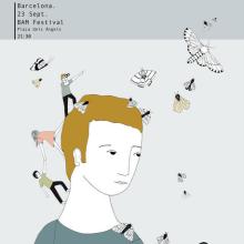 McEnroe (a collection of posters). Un proyecto de Ilustración de Estibaliz Hernández de Miguel - 02.12.2012