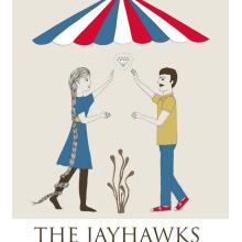 The Jayhawks poster. Un proyecto de Ilustración de Estibaliz Hernández de Miguel - 02.12.2012