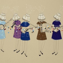 Lamp Ladies. Un proyecto de Ilustración de Estibaliz Hernández de Miguel - 02.12.2012