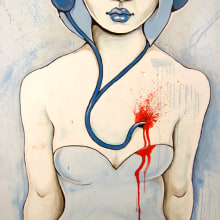 Listen to your ❤. Um projeto de Ilustração e Instalações de Maga Artwork - 12.12.2012