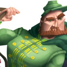 Personajes secundarios Don Quijote. Um projeto de Design e Ilustração de Carlos Aranda /kafreman/ - 18.12.2012