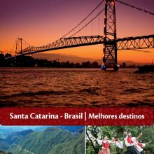 EDITORIAL - Libreto regiones de Santa Catarina. A Design, Advertising, and Photograph project by Vicky Anne Crespo - 01.02.2013