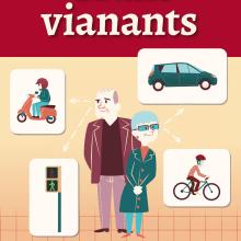 EDITORIAL - Libreto Grans Vianants (proyecto gráfico, concepto de las ilustraciones y maquetación). A Design, Illustration, and Advertising project by Vicky Anne Crespo - 09.29.2013