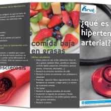 Folleto Hipertensión Arterial. A Design und Werbung project by Alana García Ortega - 11.02.2013