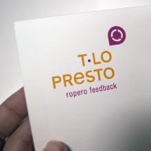 T·lo presto. Un proyecto de Diseño de Chary Esteve Vargas - 24.03.2013