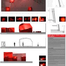 Vodafone. Un proyecto de Diseño, Instalaciones y 3D de Alejandro Mazuelas Kamiruaga - 26.04.2013