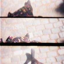 Lights, a selfportrait by Noemi Sánchez. Un proyecto de Fotografía, Cine, vídeo, televisión, Fotografía en exteriores y Fotografía analógica de Noemi Sánchez - 09.05.2015
