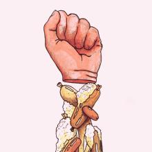 We Are What We Eat. Um projeto de Ilustração de Alejo Malia - 27.05.2013