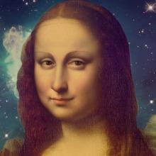 Mona Lisa's Galaxy. Um projeto de Ilustração, Instalações e Fotografia de Alejo Malia - 05.06.2013