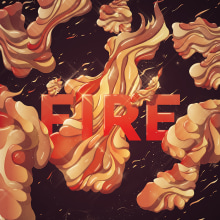 Fire. A Design & Illustration project by Cristian Eres - 07.31.2013