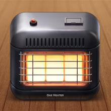 Gas Heater iOS Icon. Um projeto de 3D e Design de Edu Torres - 10.08.2013