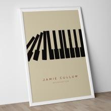 Jamie Cullum Tour Poster 2013 . Um projeto de Design, Ilustração e Publicidade de Edu Torres - 22.08.2013
