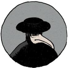 La máscara del médico. Un projet de Illustration de Nicolás Castell - 10.09.2013