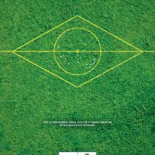 Copa Mundial FIFA Brasil 2014. Un proyecto de Diseño, Ilustración, Publicidad, Cine, vídeo y televisión de Felipe Ruiz - 09.10.2013