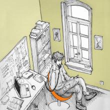 Ilustraciones para . Un proyecto de Ilustración de Alfonso Girón Pérez - 02.10.2013