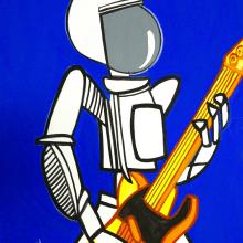 astronauta. Un proyecto de Ilustración de Pachucho Madrid - 29.10.2013