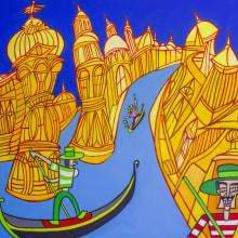 gran via de venecia. Un proyecto de Ilustración de Pachucho Madrid - 29.10.2013