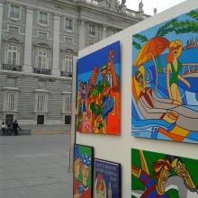 Palacio real ACTUA 2013. Un proyecto de Cine, vídeo y televisión de Pachucho Madrid - 29.10.2013