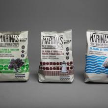 Marinas Mediterranean Crisps. Un proyecto de Diseño y Publicidad de Eduardo Crespo - 30.10.2013