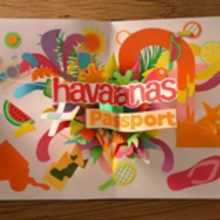 HAVAIANAS PASSPORT. Un proyecto de Diseño, Motion Graphics y 3D de noelia lozano cardanha - 04.11.2013