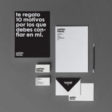 Identidad personal. A Design project by Adrián Heras - 07.11.2013