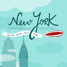 The citizen of the World - NYC travel guide. A Design & Illustration project by ana seixas - 11.10.2013