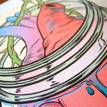 Agnostic Front Poster. Un proyecto de Diseño, Ilustración y Publicidad de Ink Bad Company - 16.11.2013