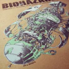 Biohazard Poster . Um projeto de Ilustração, Publicidade e Música e Áudio de Juan Esteban Rodríguez - 26.11.2013