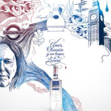 Martin Miller´s Gin. Un projet de Illustration de Eduardo Bertone - 04.03.2013
