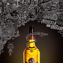 Licor 43. Un projet de Design , Illustration , et Publicité de Eduardo Bertone - 17.01.2013