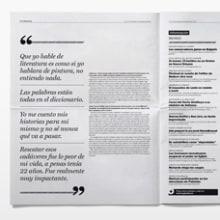 La Gaceta. Un proyecto de Diseño de Marta Sisón Barrero - 29.06.2013