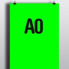 A0. Un proyecto de Diseño y Publicidad de Marta Sisón Barrero - 12.11.2010