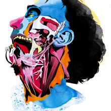 Anatomía. Un proyecto de Ilustración de Alvaro Tapia Hidalgo - 30.11.2013
