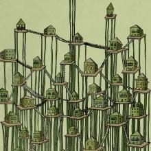 Ciudades invisibles. Um projeto de Ilustração de Maria Monsonet - 14.01.2014