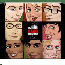 The Big Bang Caricatures. Un projet de Illustration de Pepetto - 16.01.2014
