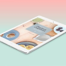 App Postres veganos. Un proyecto de Diseño y UI / UX de Gemma Busquets - 23.01.2014