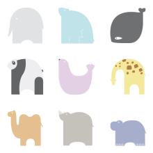 Pictogramas Animales. Un proyecto de Diseño e Ilustración de Ana Sansó - 25.01.2013