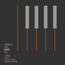 ARRELS DEL JAZZ. A Graphic Design, and Packaging project by MARTA.GARCIA - 01.26.2014