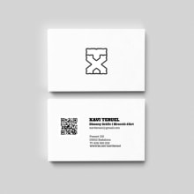 Identitat personal. A Graphic Design project by Xavi Teruel - 01.30.2014