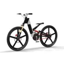 AC e-bike. A Design und 3-D project by Àlex Casabò - 14.05.2013
