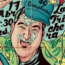 H2O Poster. Un proyecto de Ilustración y Diseño gráfico de Ink Bad Company - 02.02.2014