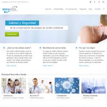 Web Secuvita. Un proyecto de Diseño Web de Silvia Iglesias - 02.08.2013