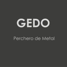 Gedo. Perchero de Metal.. Un proyecto de Diseño de producto de Alexia Alvarez - 12.01.2014