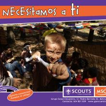"""Campaña """"Te necesitamos a ti"""" (videos). Un proyecto de Cine, vídeo y televisión de Laura de la Cruz Martínez - 11.02.2014"""