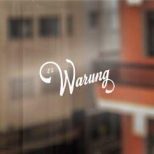 El Warung. A Design, Illustration, Art Direction, Br, ing & Identit project by Nicolás Gallardo - 03.04.2014