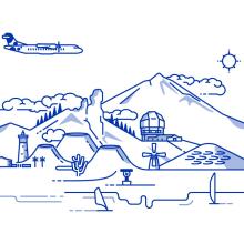 Canaryfly. A Illustration project by Nicolás Gallardo - 03.04.2014